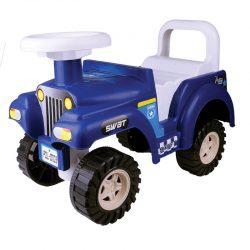 Montable Brinca Jeep Policía